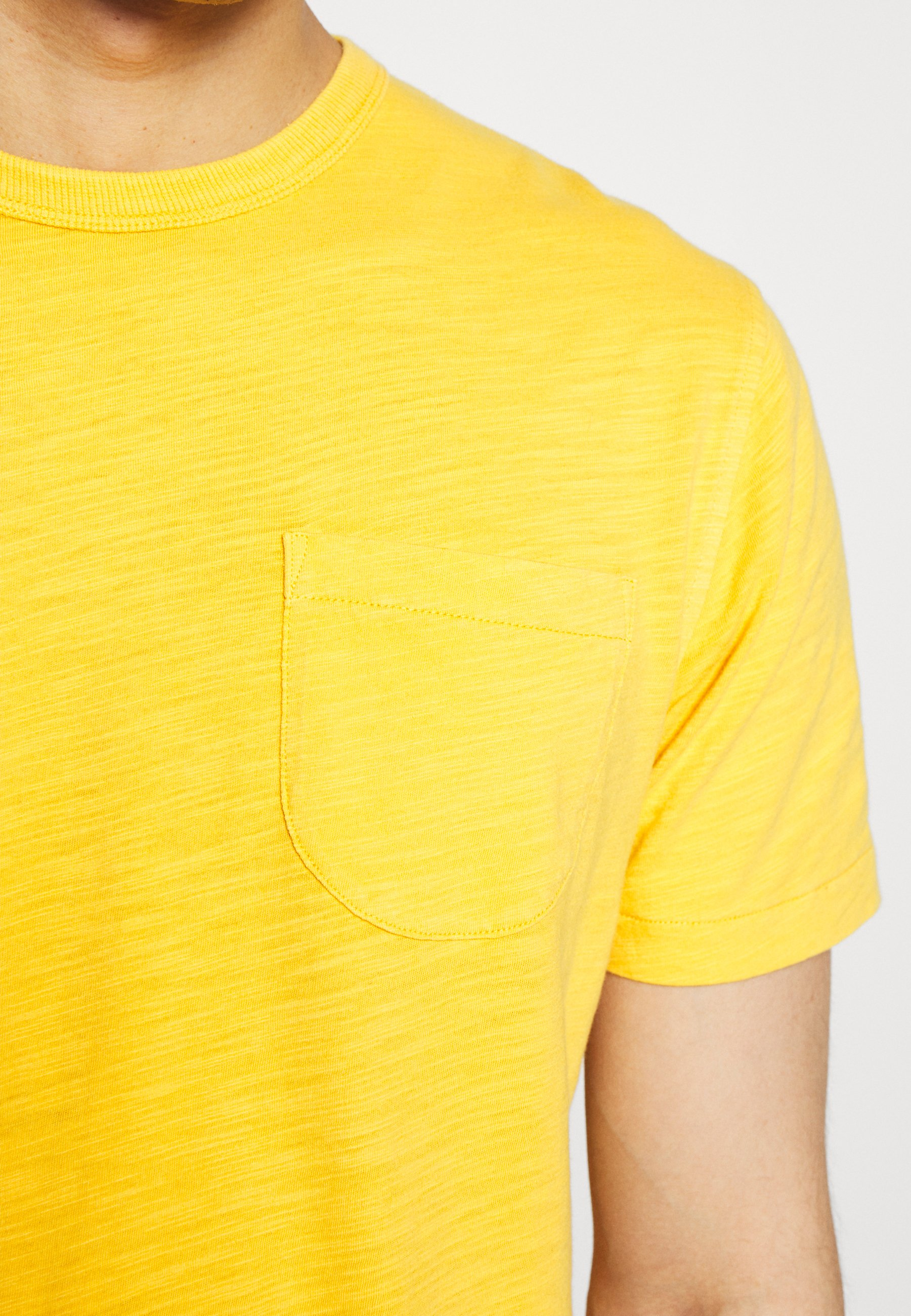 Ymc You Must Create Wild Ones Pocket Tee - T-shirt Bas Yellow