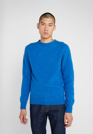 SUEDEHEAD CREW - Pullover - blue