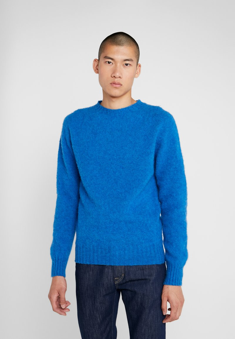 YMC You Must Create - SUEDEHEAD CREW - Maglione - blue