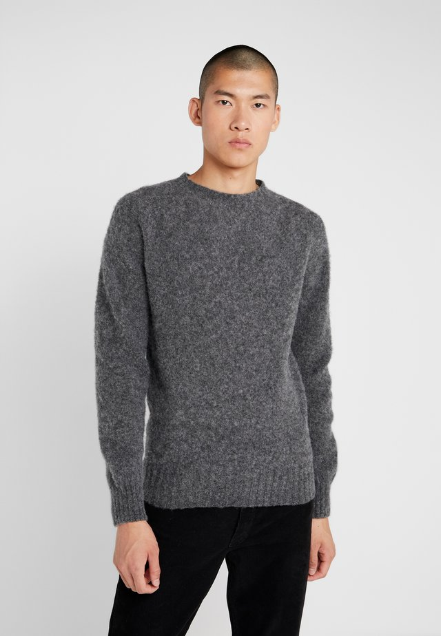 SUEDEHEAD CREW - Strickpullover - charcoal