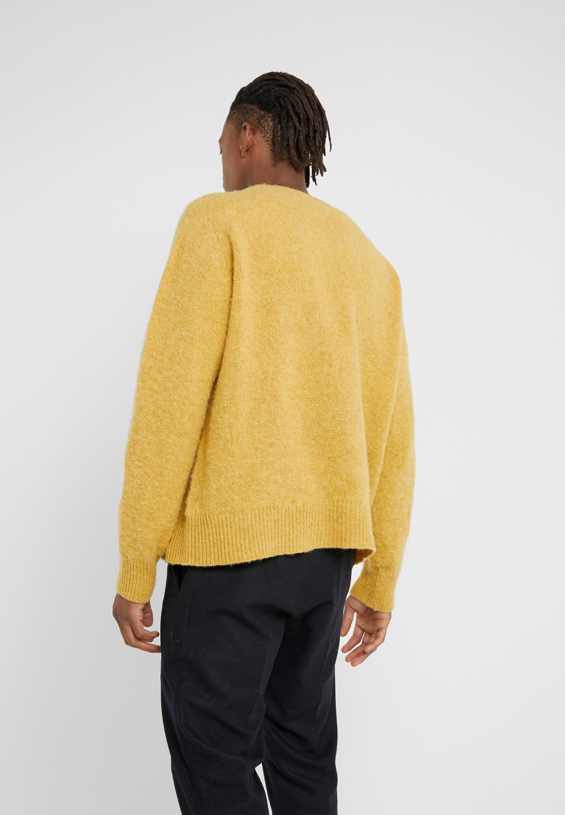 YMC You Must Create SPINNERS CREW - Sweter - yellow