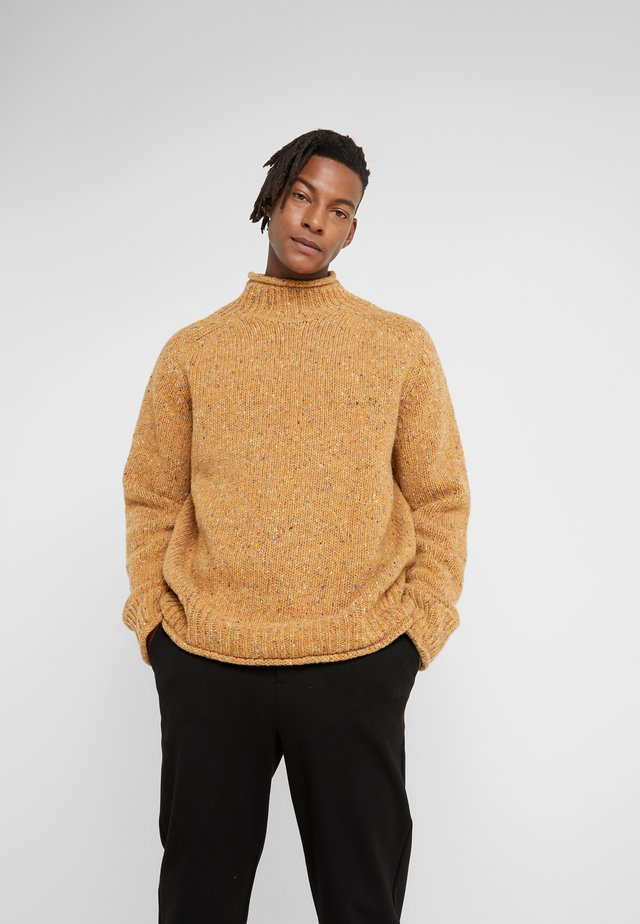 DIDDY TURTLE NECK - Jumper - yellow