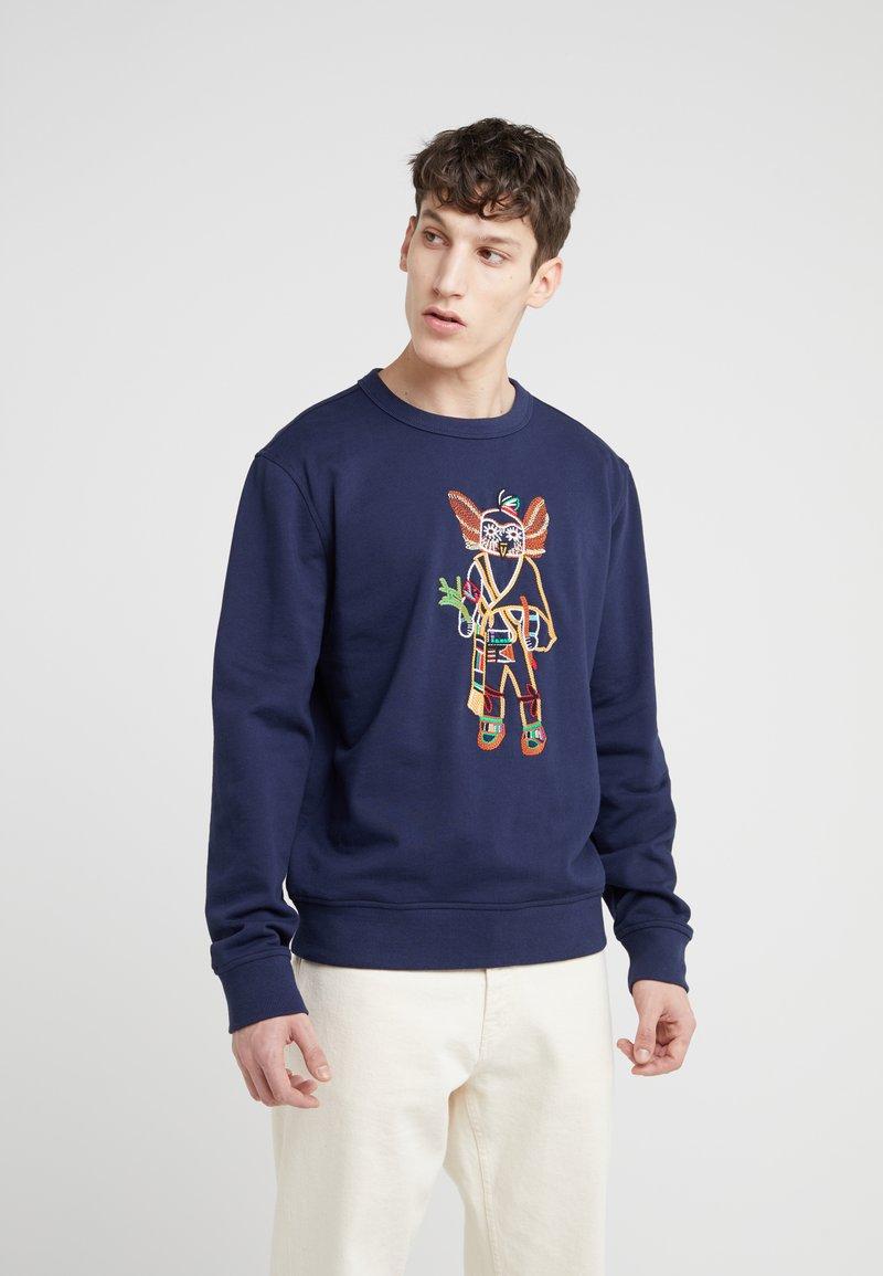 YMC You Must Create - BIRDMAN  - Sweatshirt - navy