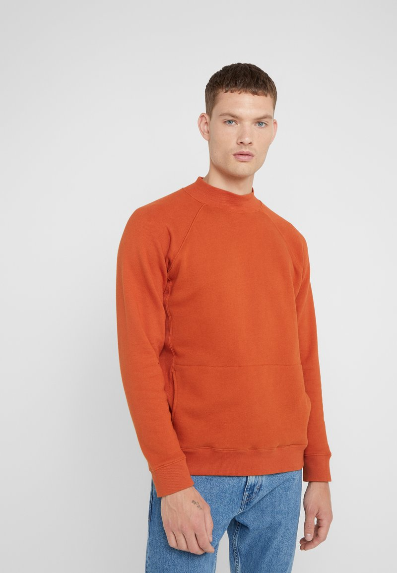 YMC You Must Create - TOUCHE POCKET - Sweater - rust