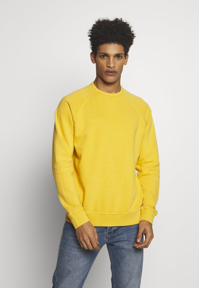 SCHRANK RAGLAN - Collegepaita - yellow