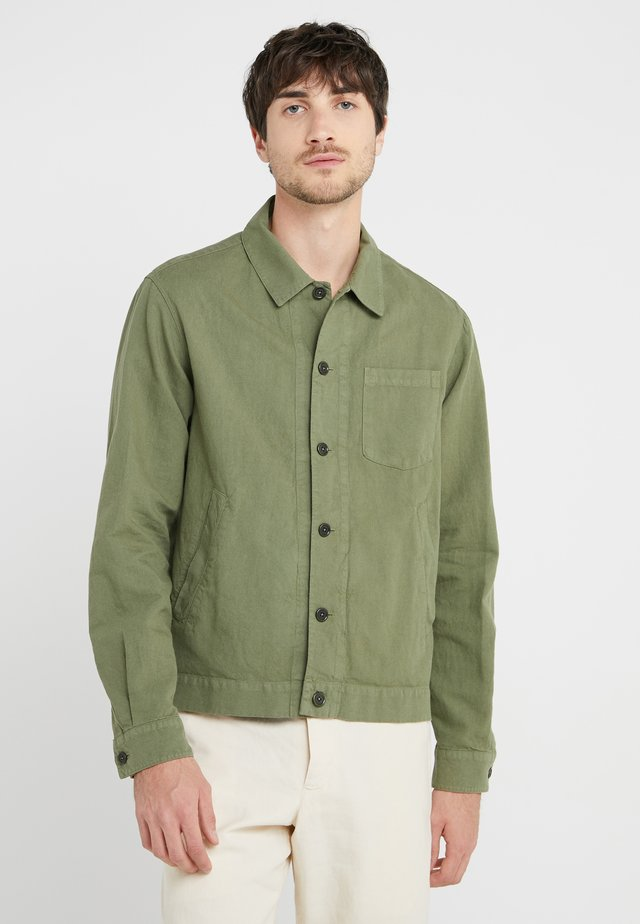 BOWLING JACKET - Summer jacket - olive