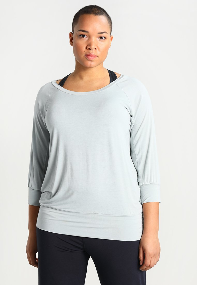 YOGA CURVES - Camiseta de manga larga - jade