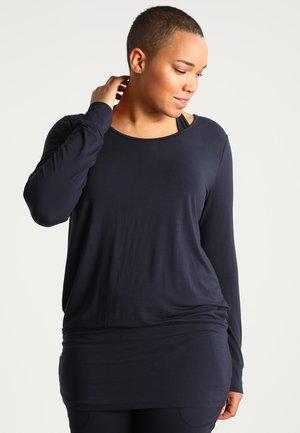 Long sleeved top - midnigh blue