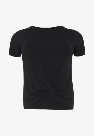 TWISTED  - Basic T-shirt - black