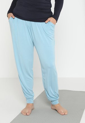 RELAXED LONG PANTS - Pantaloni sportivi - aqua