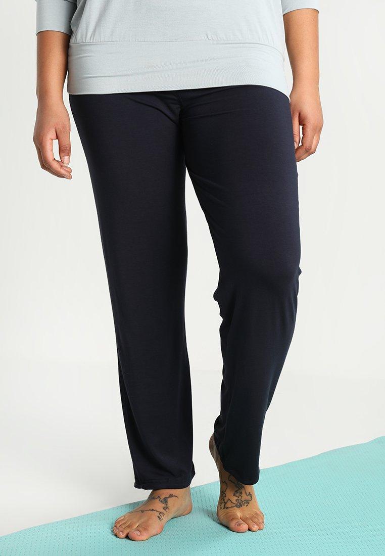 YOGA CURVES - LONG PANTS - Jogginghose - midnight blue