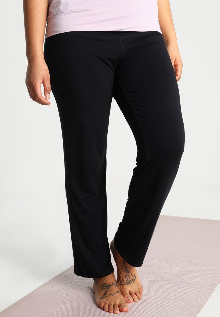 YOGA CURVES - LONG PANTS - Jogginghose - black