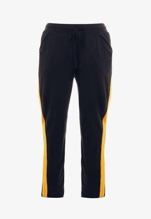 PANTS GALON STRIPE - Teplákové kalhoty - midnight blue/aprikose
