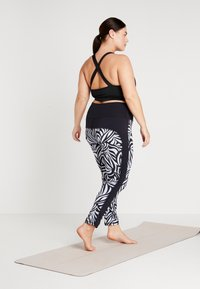YOGA CURVES - COLOR BLOCKING - Legging - grafik blue/midnight blue - 2