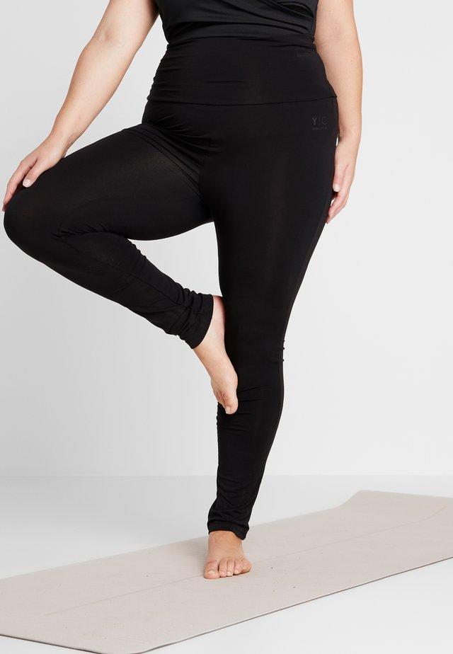 LEGGINGS - Tights - black