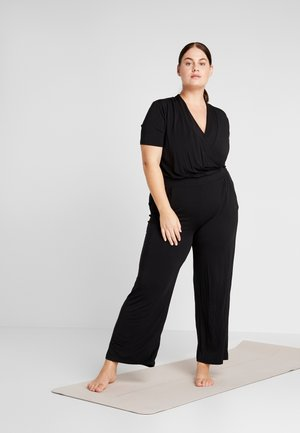JUMPSUIT - Tracksuit - black