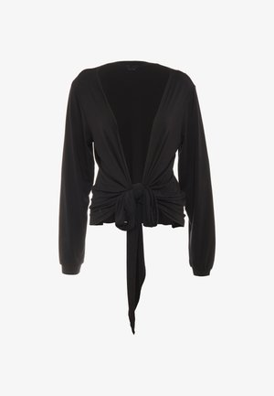 WRAP JACKET - Training jacket - black