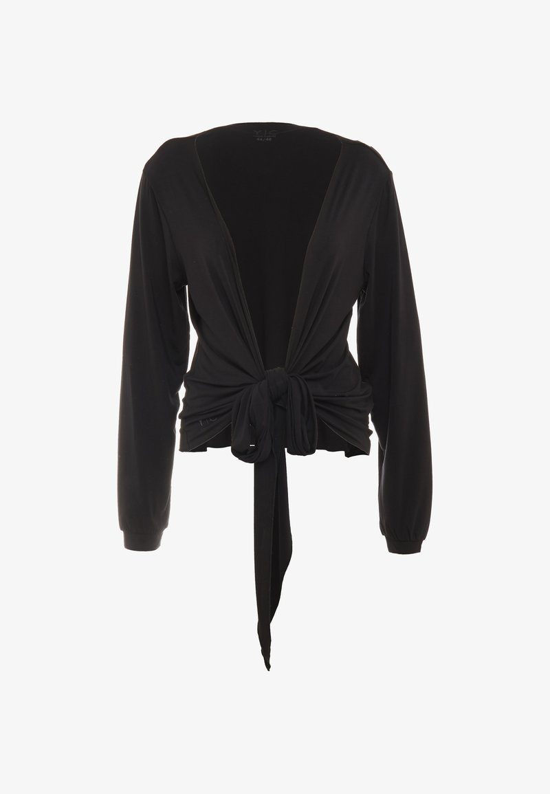 YOGA CURVES - WRAP JACKET - Training jacket - black
