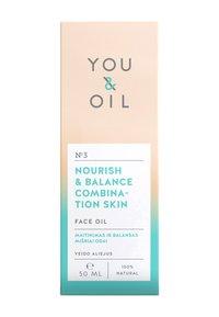 YOU & OIL - FACE OIL NOURISH & BALANCE COMBINATION SKIN 50ML - Gezichtsolie - - - 2