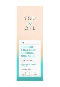 YOU & OIL - FACE CREAM NOURISH & BALANCE COMBINATION SKIN 30ML - Crema da giorno - - - 2