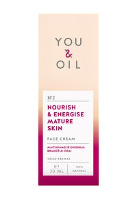 YOU & OIL - FACE CREAM NOURISH & ENERGISE MATURE SKIN 30ML - Gesichtscreme - - - 2