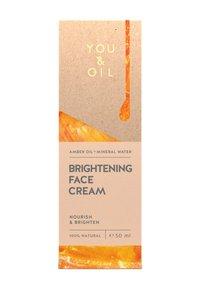 YOU & OIL - BRIGHTENING FACE CREAM 50ML - Dagcrème - - - 1