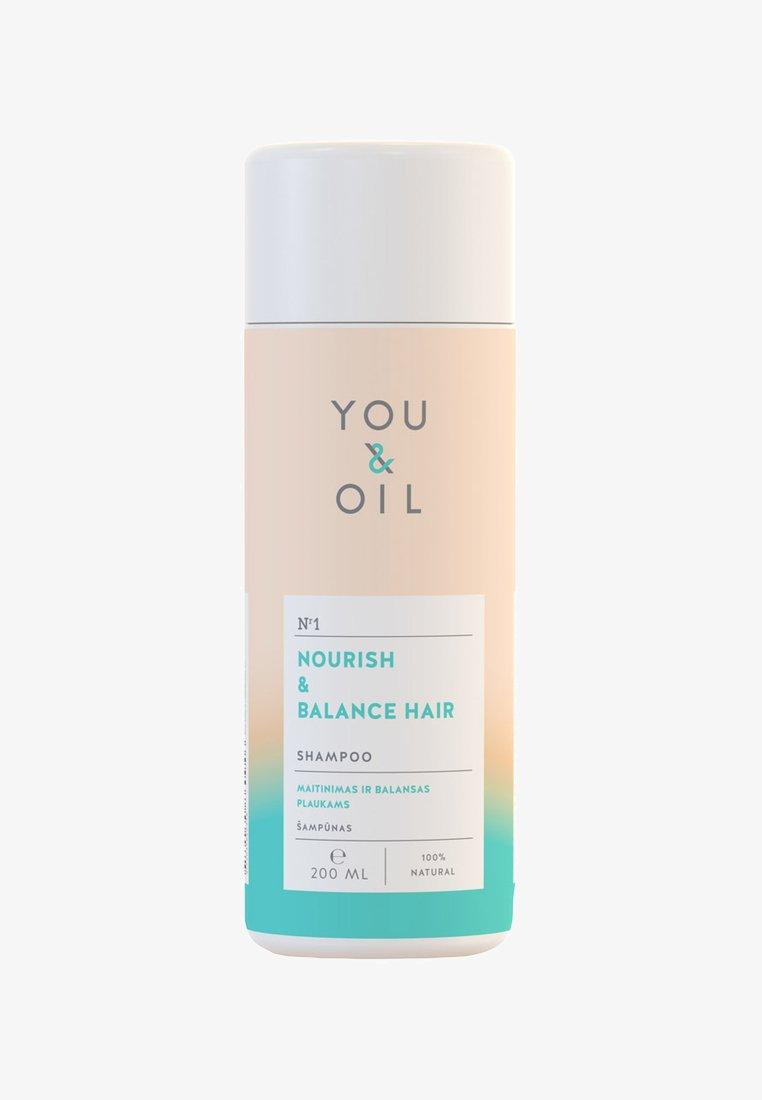 YOU & OIL - SHAMPOO NOURISH & BALANCE FOR HAIR 200ML - Shampoo - -