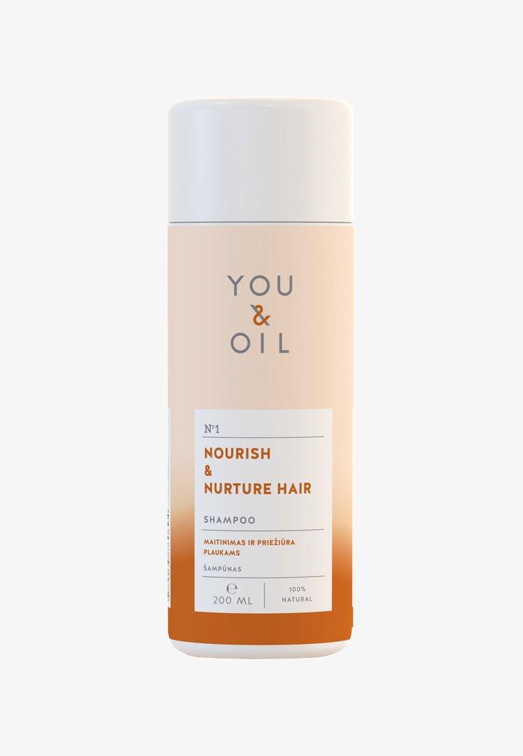 YOU & OIL - SHAMPOO NOURISH & NURTURE FOR HAIR 200ML - Shampoo - -