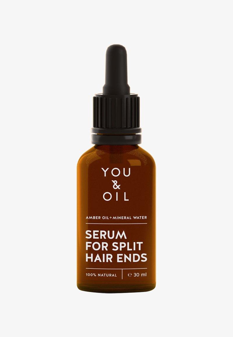 YOU & OIL - REGENERATING SERUM FOR SPLIT HAIR ENDS 30ML - Haarpflege - -