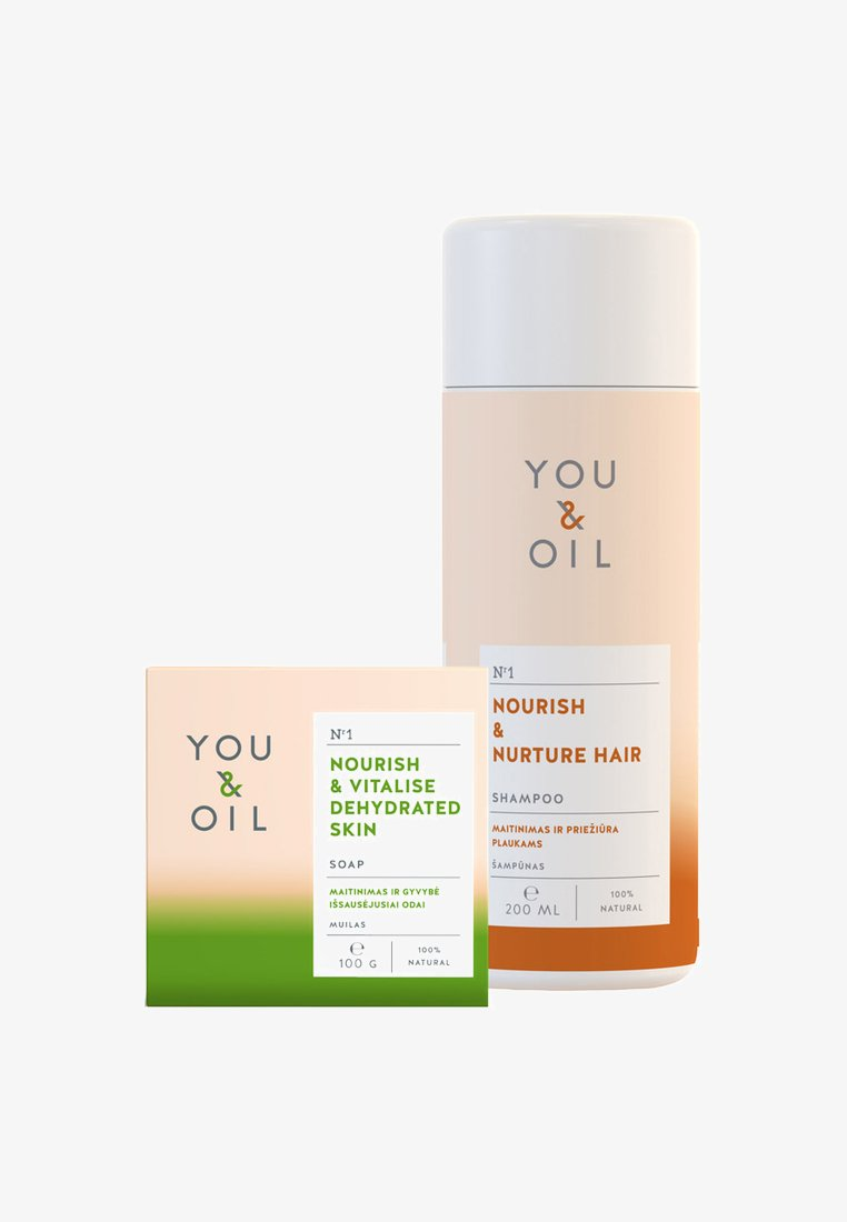 YOU & OIL - VITALISING DAILY CARE SET - Bath and body set - neutral