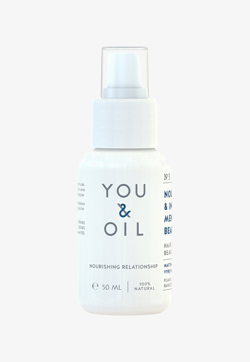YOU & OIL - HAIR AND BEARD OIL 50 ML NOURISH & INVIGORATE MEN'S HAIR & BEARD - Baardolie - -