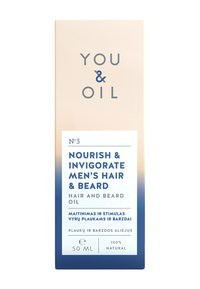 YOU & OIL - HAIR AND BEARD OIL 50 ML NOURISH & INVIGORATE MEN'S HAIR & BEARD - Baardolie - - - 2