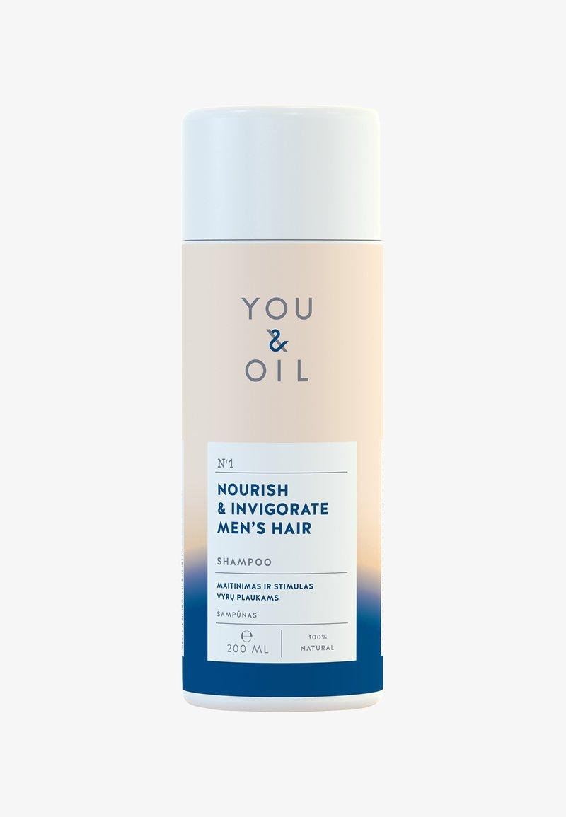 YOU & OIL - SHAMPOO 200 ML NOURISH & INVIGORATE MEN'S HAIR - Shampoo - -