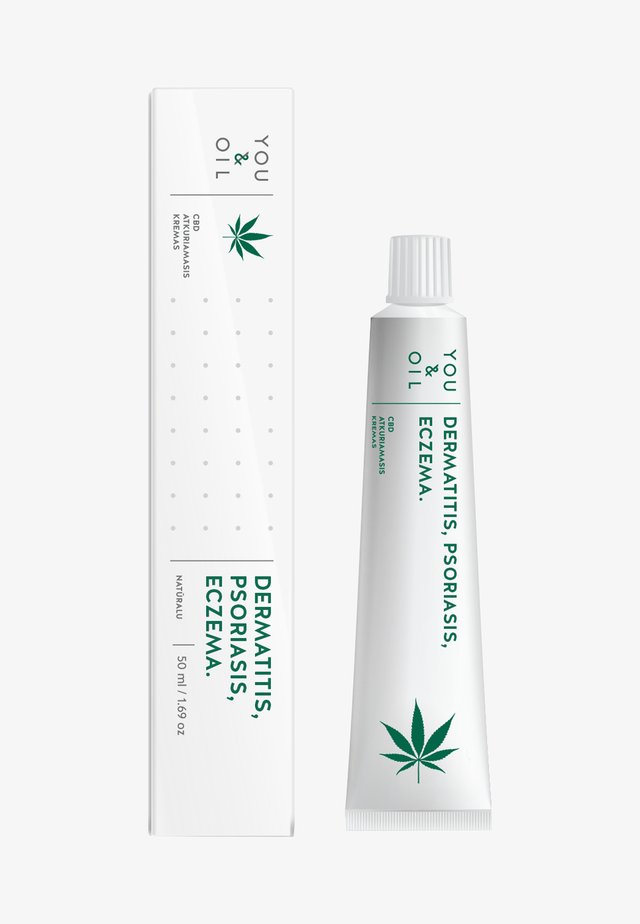 CBD SKIN REPAIR CREAM - IRRITATION - Hydratatie - -