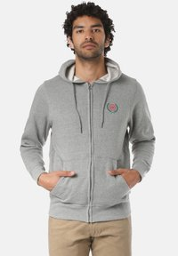 Young and Reckless - CREST  - veste en sweat zippée - grey - 0