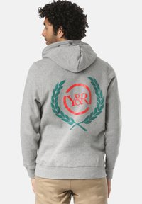 Young and Reckless - CREST  - veste en sweat zippée - grey - 1