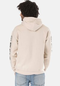 Young and Reckless - SIGNATURE CONTEND - Sweat à capuche - beige - 1