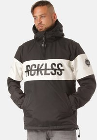 Young and Reckless - OVER ANORAK - Veste coupe-vent - black - 0