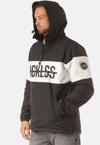 Young and Reckless - OVER ANORAK - Veste coupe-vent - black