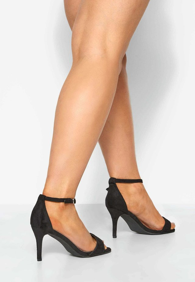 LIMITED COLLECTION IN EXTRA WIDE FIT - High heeled sandals - black