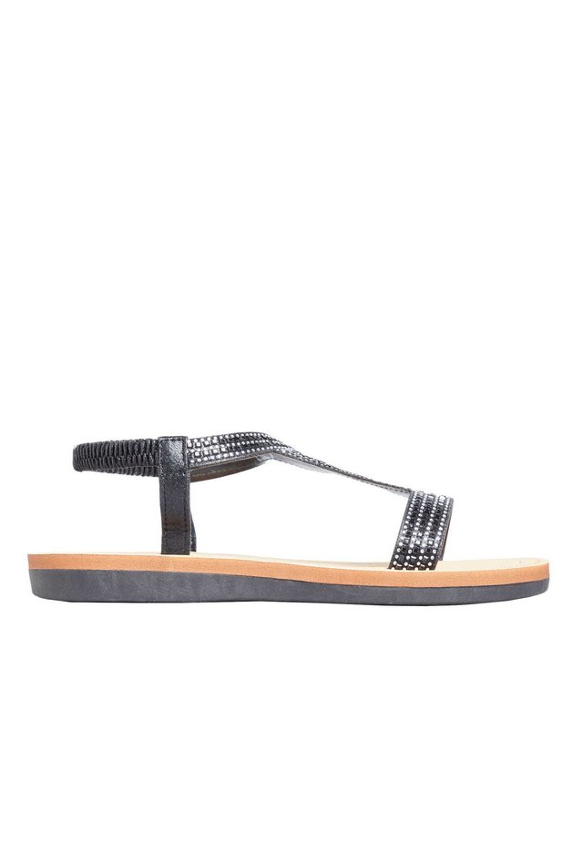 DIAMANTE - Sandals - black