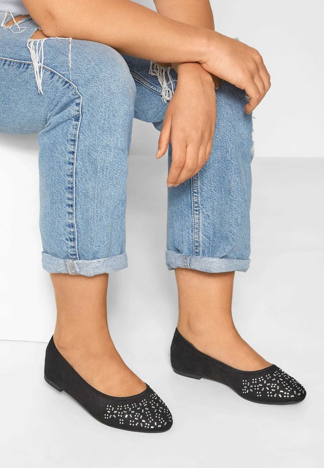 DIAMANTE - Ballet pumps - black