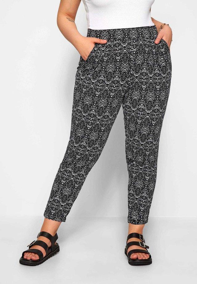 HAREM - Trousers - black