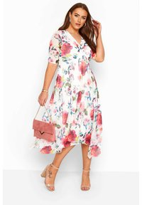 Yours Clothing - LONDON  - Day dress - white - 1
