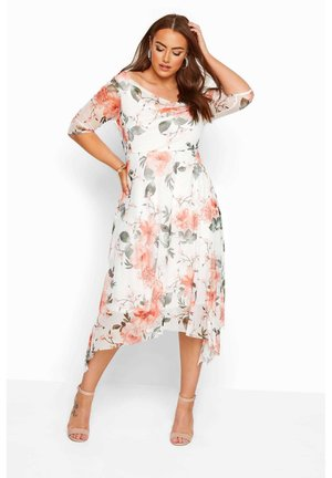 FLORAL  - Day dress - white