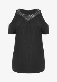 Yours Clothing - T-Shirt print - black - 4