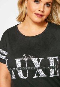 Yours Clothing - T-Shirt print - black - 3