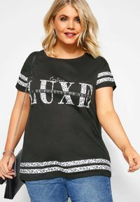 Yours Clothing - T-Shirt print - black - 0
