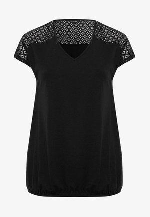 BUBBLE - T-Shirt print - black