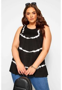 Yours Clothing - Top - black - 0